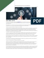 ISO 9001 2015 PROCESO Procedimiento