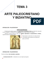 Tema 3- Arte Paleocristiano y Bizantino
