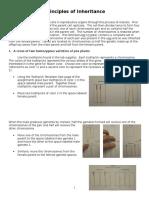 bio lab 16 principles of inheritance instructions  1