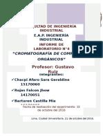 Laboratorio de Quimica Organica 4- Mesa 1