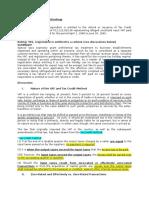 Case Notes VAT