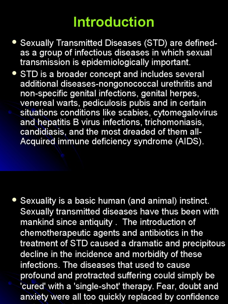 Non sexual transmitted diseases