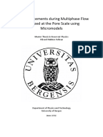 Fluid Displacements During Multiphase Flow Visualized at the Pore Scale Using Micromodels 0