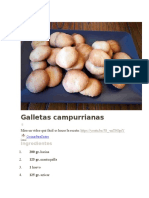 Galletas campurrianas