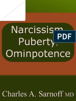 Narcissism Puberty and Omnipotence