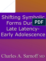 Shifting Symbolic Forms During Late Latency-early Adolescence