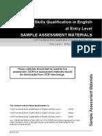 80600 Sample Assessment Materials