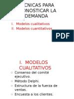 Técnicas para pronósticar la demanda.pptx
