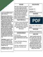 Baltagul - Tabelul Conceptual