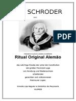 Capa Do Ritual Aprendiz Alemão