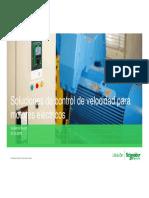 Control de velocidad de motores - Schneider