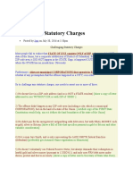 Challenging Statutory Charges 073116
