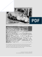Rose the Hippopotamus, Central Park Zoo, New York City. Postcard sent by Theodor W. Adorno to his parents, then in Cuba.