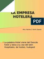 La Empresa Hotelera 1