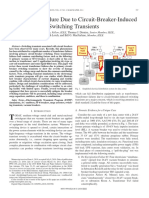 IEEE - Transformer Failure due to Circuit-Breker-Induced Switching Transients - PCT_365633.pdf