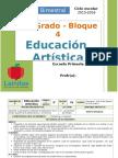 Plan 3er Grado - Bloque 4 Educación Artística (2015-2016)