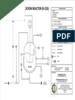 p&Id Reaktor R-210 Pras Reko