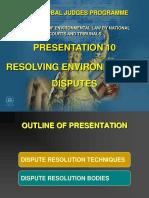 10_resolving Environmental Disputes