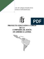 PROYECTO EDUCATIVO COMÚN DE LA COMPAÑÍA DE JESÚS EN AMÉRICA LATINA