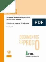 Inclusion Financiera de Pequeños Productores Rurales