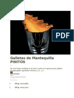 Galletas de Mantequilla PINITOS