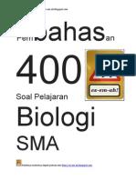 Pembahasan 400 soal pelajaran biologi SMA