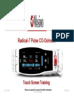 Masimo Radical 7 Monitor Training