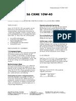 Shell Spirax S6CXME TDS