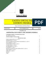 Noviembre_07 Gaceta Oficial Del Distrito Federal