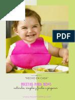 Recetas Para Su Bebe - Mi Carita Feliz