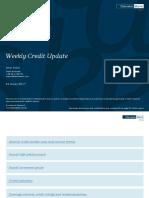 Weekly Credit Update