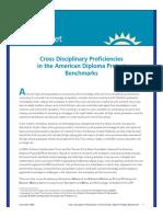 Cross Disciplinary Proficiencies Fact Sheet