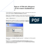 Cómo Configurar El Filtrado de Router Tp Link