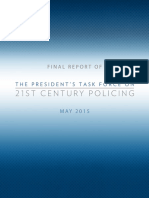 21 Century Policing TaskForce Final Report