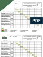 Cronograma Treinamentos e Simulados 2008