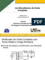 Aula 03A - Retificadores Monofasicos de Onda Completa (1)