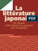 La Littérature Japonaise - Collectif d'Auteurs