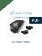 Proyecto Alarma Corta Corriente Aut.