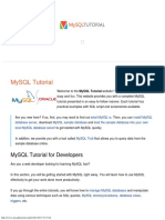 MySQL Tutorial - Learn MySQL Fast, Easy and Fun
