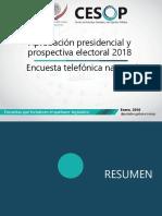 Encuesta de la aprobación del presidente Enrique Peña Nieto