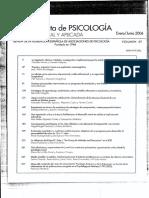 2006_orejudo, Ramos Et Al (2006). Evolución Del Miedo..Revista de Psicología General y Aplicada