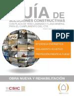 Soluciones Constructivas Con Placa de Yeso Laminado y Lana Mineral