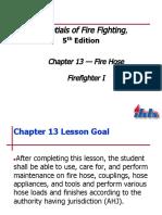(IFSTA) Chapter 13 Fire Hose.ppt