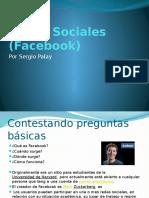 Redes Sociales Facebook