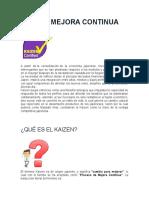 Info About Kaizen