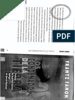 Fanon - Los condenados de la tierra (cap 1) y prólogo de Sartre.pdf
