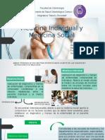 Medicina Individual y Medicina Comunitaria Mary Peres y Francis Martinez