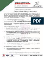 Contrato Prestacion Servicios Matricula 2017 2