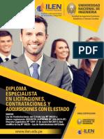 Diploma Especialista en Licitaciones Contrataciones y Adquisiciones Con El Estado