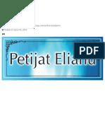 Petijat Eliahu